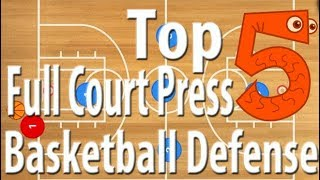 Top 5 Basketball Full Court Press Defense Plays