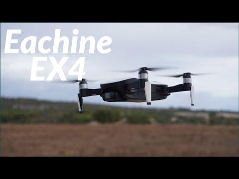 Eachine EX4 - Gimbal 3 assi - GPS - 20 minuti di volo e ottima portata - Recensione part 1