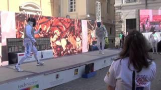 Maratona di Scherma a Roma 2011: Alessandro Di Ciolo -  Francesco Tiberi
