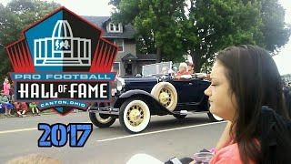 CANTON OHIO *HAll OF FAME* PARADE 2017 *PART1*!!!!!!