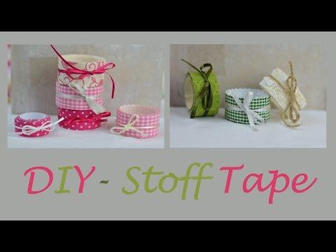 Tolles Deko-Tape aus Stoff - Kreative DIY-Geschenkverpackungen