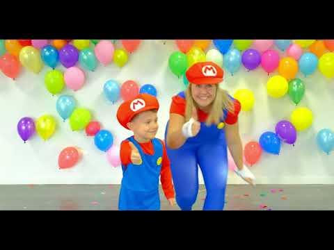 Klä ut dig till Super Mario!