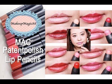 Patentpolish Lip Pencil by MAC #4