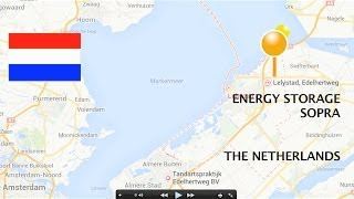 NEW ENERGY PLACES: smart grid power station