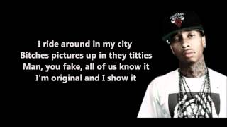 Careless World - Tyga // Lyrics [HD]