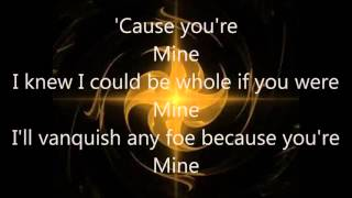Disturbed you're Mine Lyrics