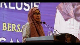 LIVE NOW - Kunjungan Menteri Keuangan RI, Sri Mulyani ke Gontor