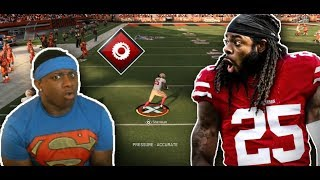 RICHARD SHERMAN SHUTDOWN ACTIVATED !!! MADDEN 20 49ERS ONLINE HEAD TO HEAD GAMEPLAY