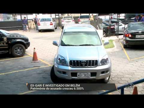 SBT PARÁ (12.01.18) Ex-gari é investigado em Belém: Patrimônio do acusado cresceu 6.500%