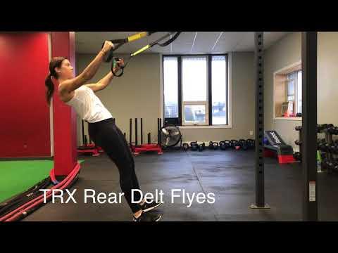 TRX Rear Delt Flyes