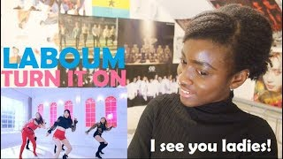 LABOUM(라붐) - TURN IT ON (불을 켜) MV REACTION [THAT INTRO THO!]