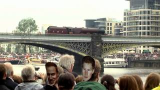 6201 Starts The Thames Diamond Jubilee Pageant