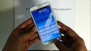 How to Hard Reset Password Wipe Factory Restore Samsung Galaxy Note 2 II Tutorial Guide