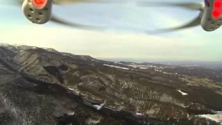 DJI Phantom2 ジンバル初空撮 GoPro