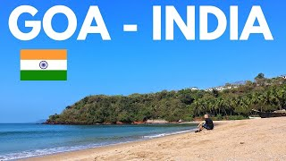 MY FIRST TIME In INDIA -  GOA Is PARADISE