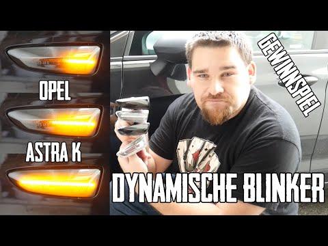 Dynamische Seitenblinker - Vergleich mit alten Blinker - Opel Astra K ST - Turn Signal Lights