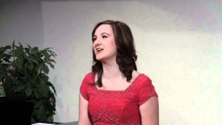 Kristin Rock sings The Jewel Song - Gounod