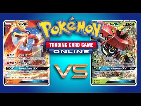 Ho-Oh GX / Wobbuffet vs Random Decks – Pokemon TCG Online Gameplay