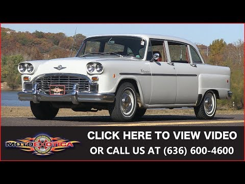 1970 Checker Marathon Sedan || SOLD