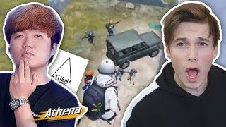 PANDA REACTS TO ATHENA Gaming | PUBG Mobile