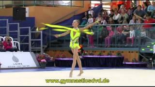 preview picture of video 'Grand-Prix Holon 2013 - Junior - 01 - Yulia Bravikova - Ribbon'