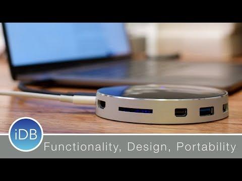 Arc Hub is a Fantastic, Portable, & Round USB-C Hub – Review