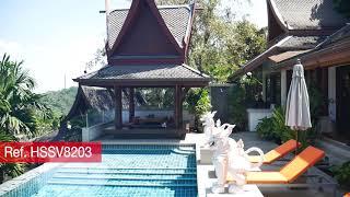 Baan Thai Surin Hill | Luxury Hilltop Paradise 4 bedroom Pool Villa for Sale