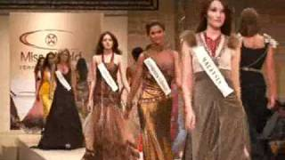 Miss World 2008 contestants make semi finals of Top Model competition