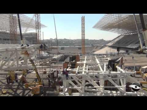 Arena Corinthians em 19/06/2013