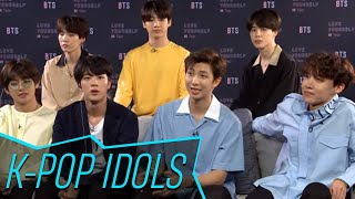 BTS Dish About Debuting New Music At The 2018 Billboard Music Awards | Access - Video Youtube
