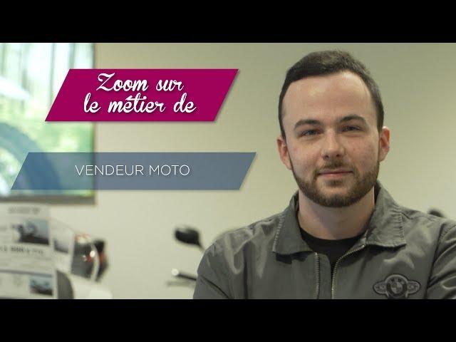 Le métier de vendeur moto