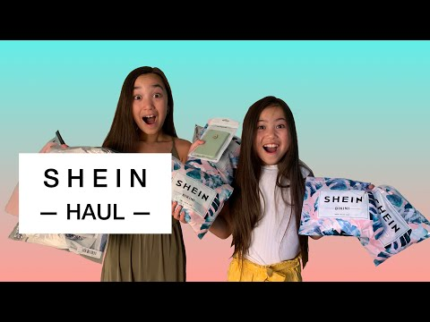 SHEIN KIDS TRY ON HAUL! (BONUS OUTTAKES at the end)