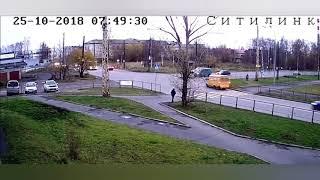 Аварии на дороге, приколы на дороге 2018 7