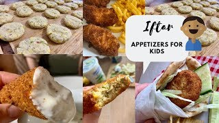 3 kid Friendly Yummy Appetizers for Iftar Ramadan Recipes