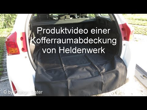 521 - Kofferraumschutz/Matte - von Heldenwerk