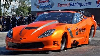 QUARTER MILE PRO MODS - SHAKEDOWN AT NORWALK!