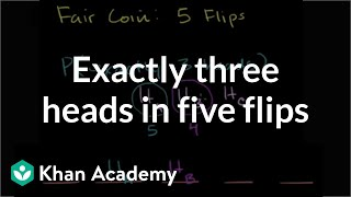 Exactly Three Heads in Five Flips