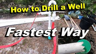 Fastest Way to Get Water - How to JET a Well with Pressure Washer and Connect Pump - Complete Guide