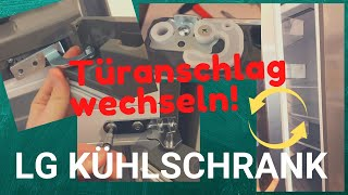LG Kühlschrank Türanschlag wechseln GBP62 DSNFN / Kühl-Gefrier-Kombi / Tutorial / How-To / #DIY