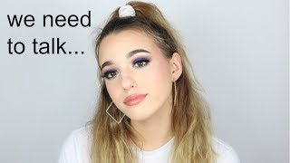 we need to talk... my breakup, why I'm changing, etc. + Massive Giveaway| jordan byers