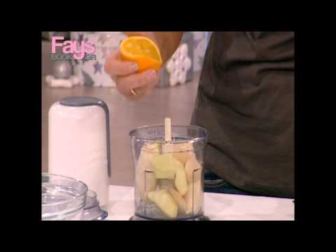 Face to Fay's: Πώς θα φάνε τα παιδάκια όλη τους τη φρουτόκρεμα;