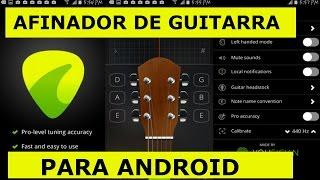 El Mejor Afinador De Guitarra Para El Celular - Guitar Tune - Apps Cristianas