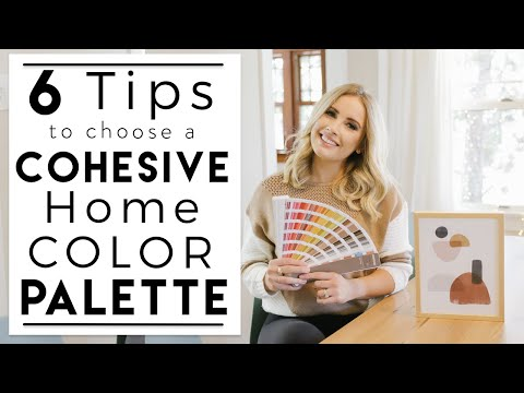 INTERIOR DESIGN | How to Choose a Cohesive Color Scheme for Your Home