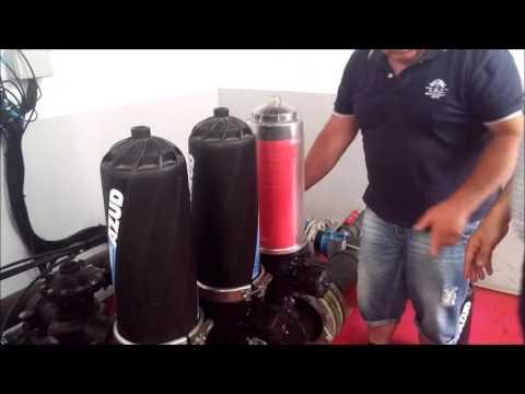 Limpieza automática de filtros