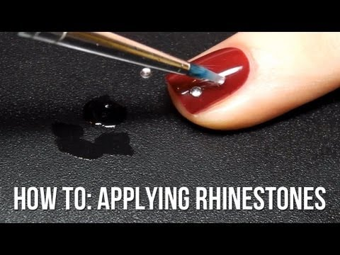 Video Tutorial: Applying Rhinestones