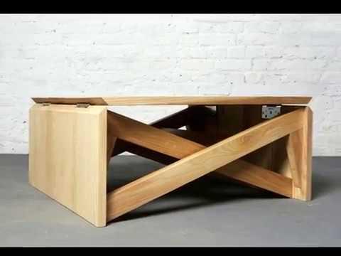 Couchtisch Holz Höhenverstellbar