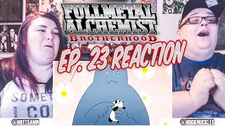 "Fullmetal Alchemist: Brotherhood Episode 23 REACTION!! ""Girl on the Battlefield"""