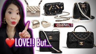 NEW Chanel 21S Collection + What I'd LOVE to buy BUT WON'T! Chanel Spring Summer 2021 FashionablyAMY