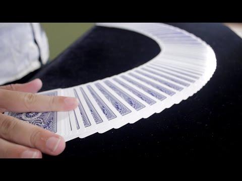 Cómo Extender la Baraja de Cartas en la Mesa - Florituras con Cartas