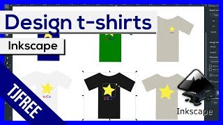 Inkscape - Design t-shirts, jackets, and other clothing